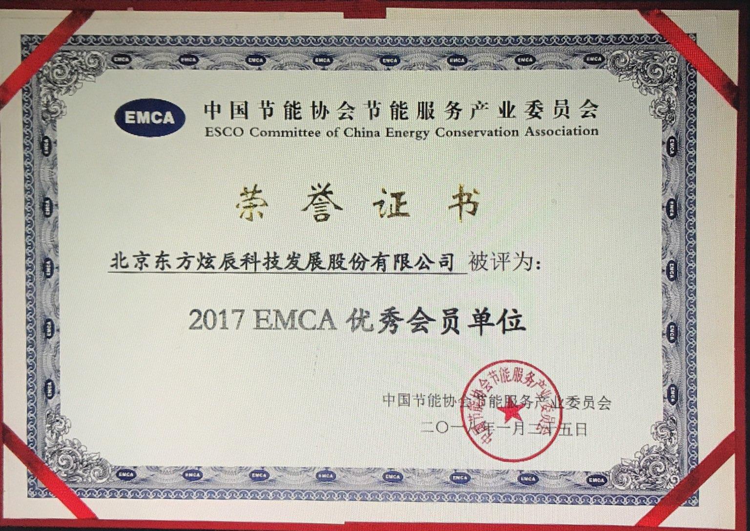 节能协会荣誉证书